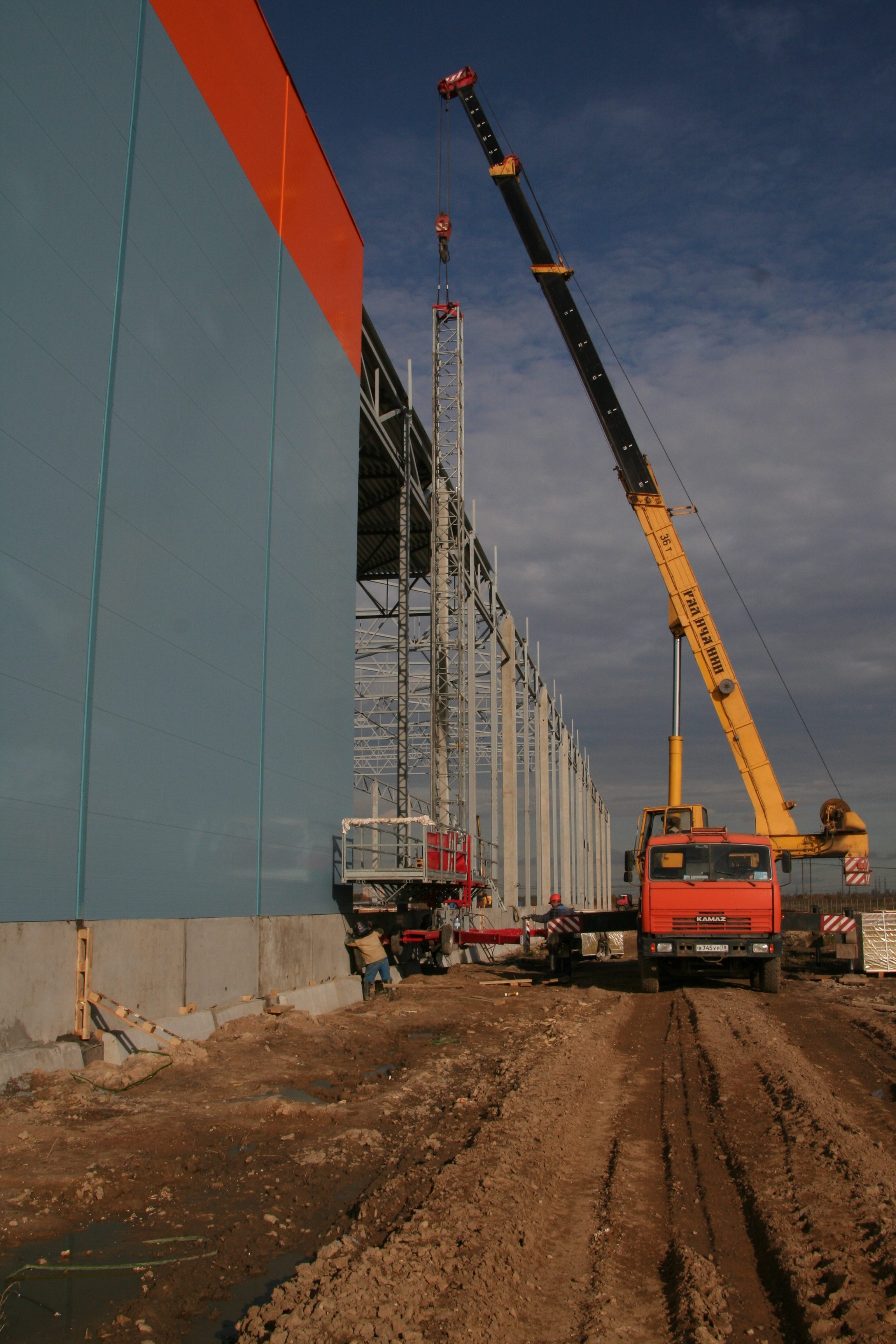 севзапстальконструкция строительство терминал ханнер
