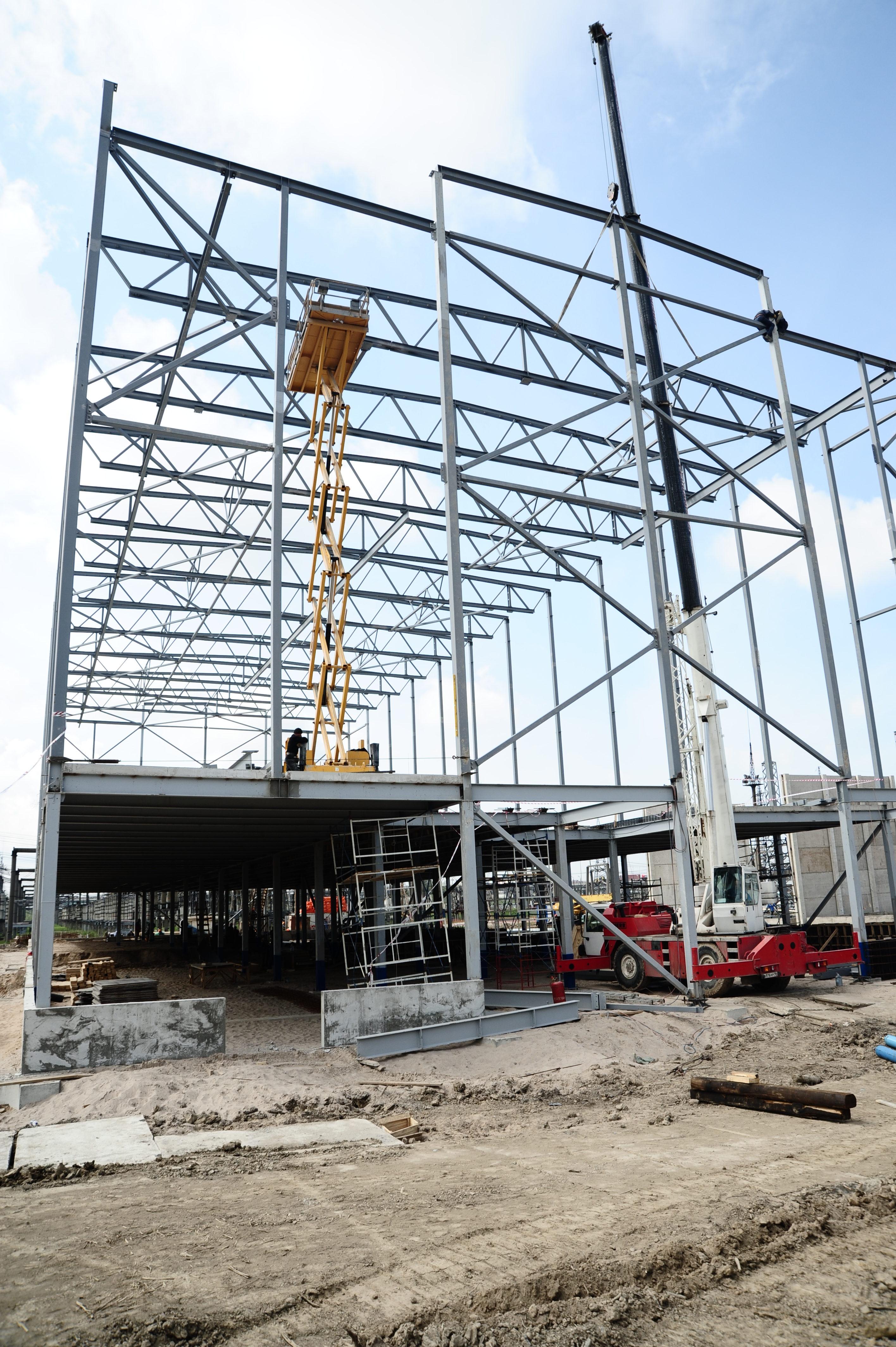 севзапстальконструкция строительство южная подстанция