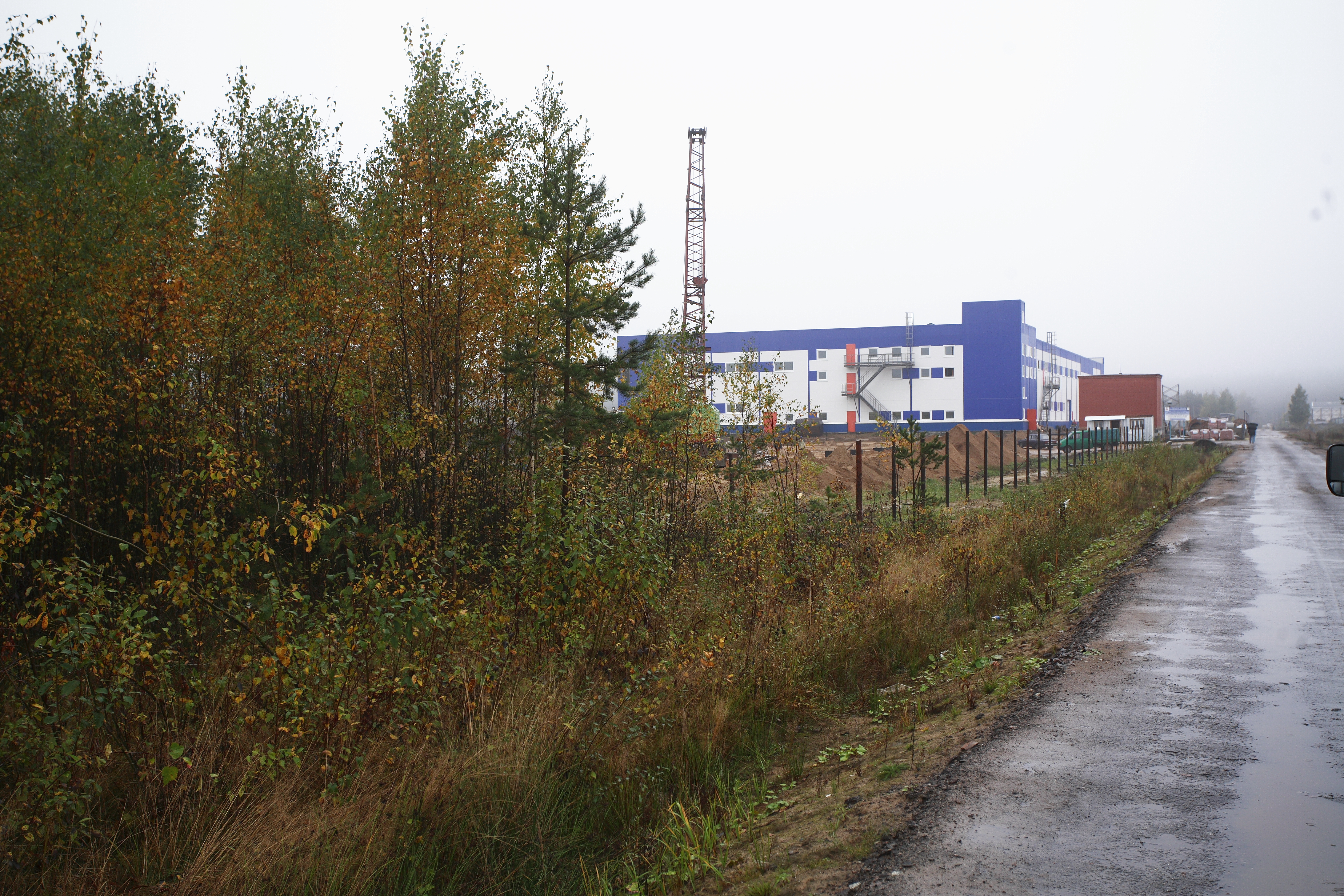 севзапстальконструкция строительство Производственно-складской терминал в г. Всеволожск