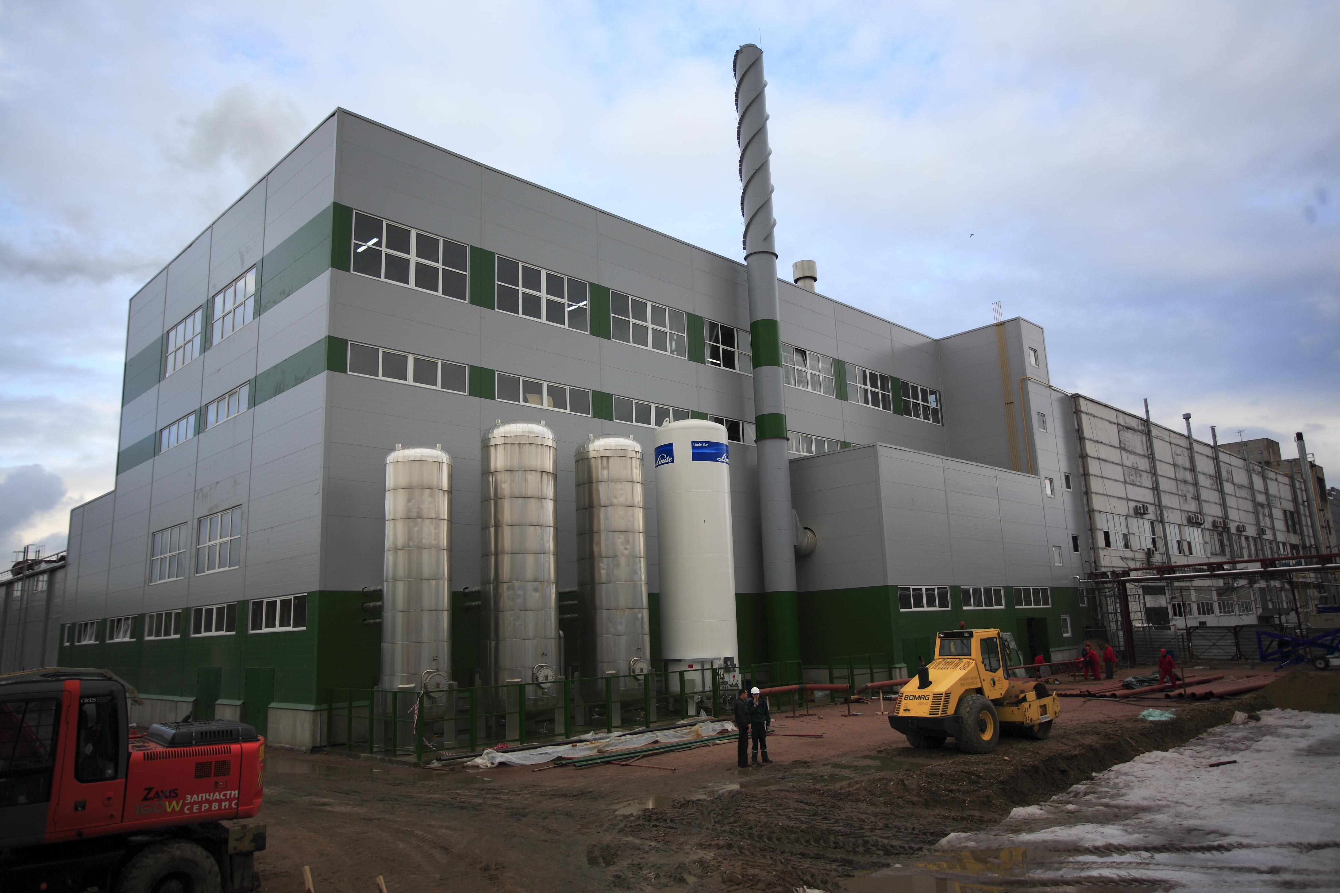 севзапстальконструкция строительство Табачная фабрика «КРЕСС-НЕВА»