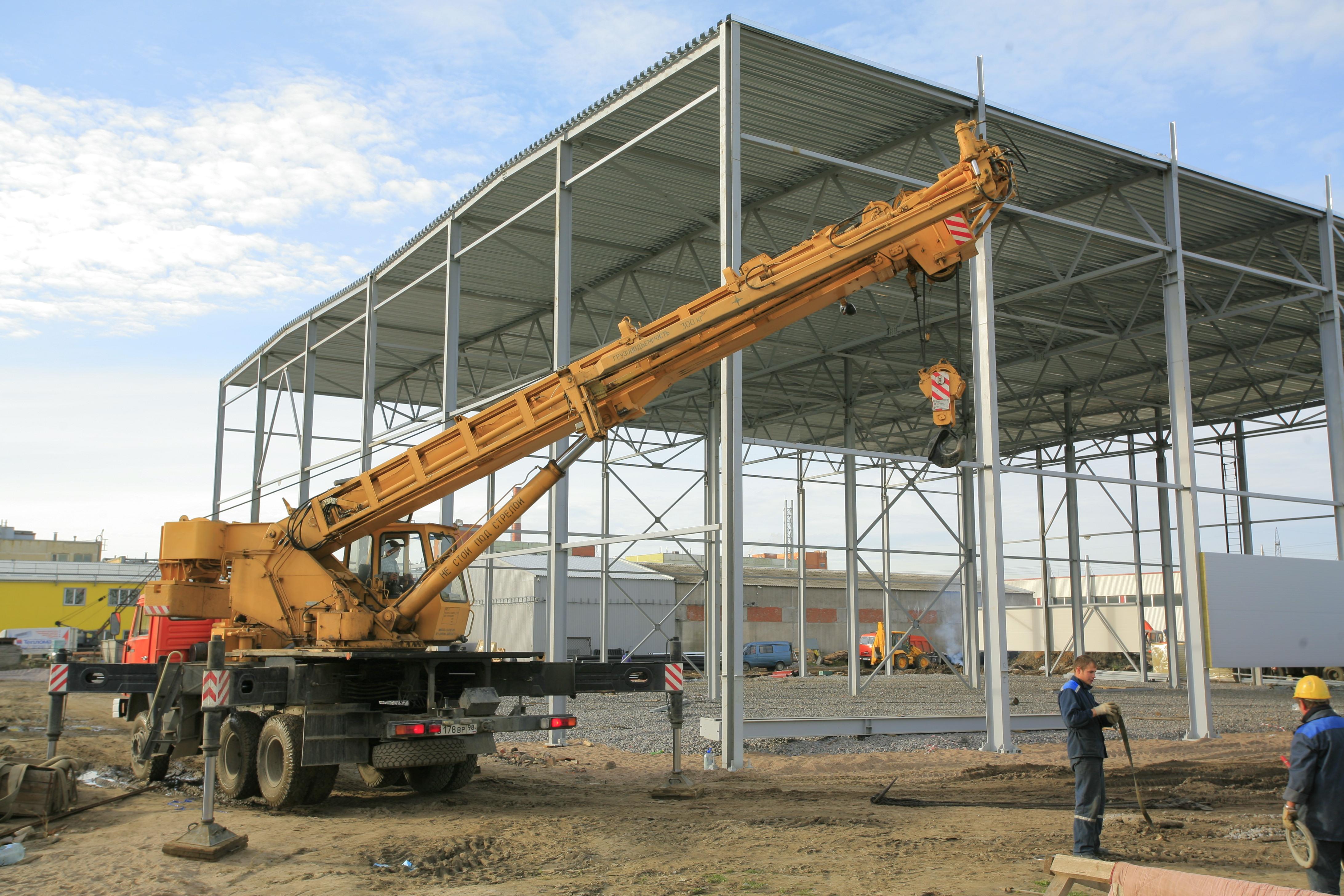севзапстальконструкция строительство Тепломаш производственные корпуса